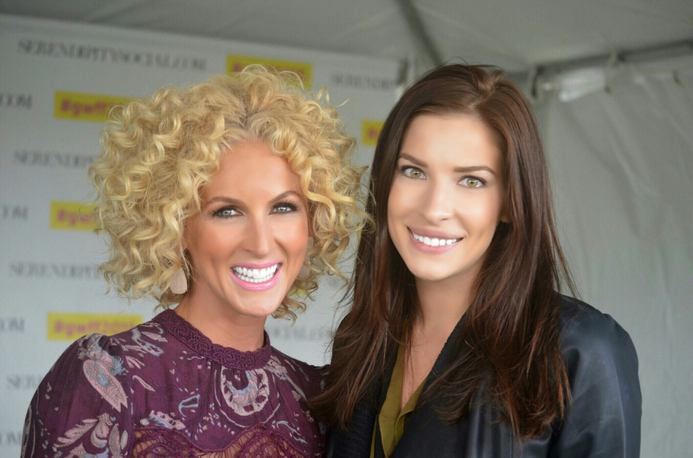 Kimberly Schlapman  of Little Big Town and  CT Eats Out  Founder  Alycia Chrosniak