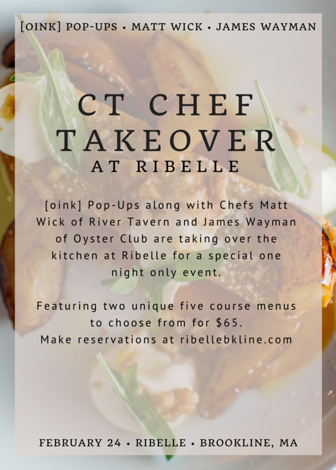 CT Chef Takeover at Ribelle