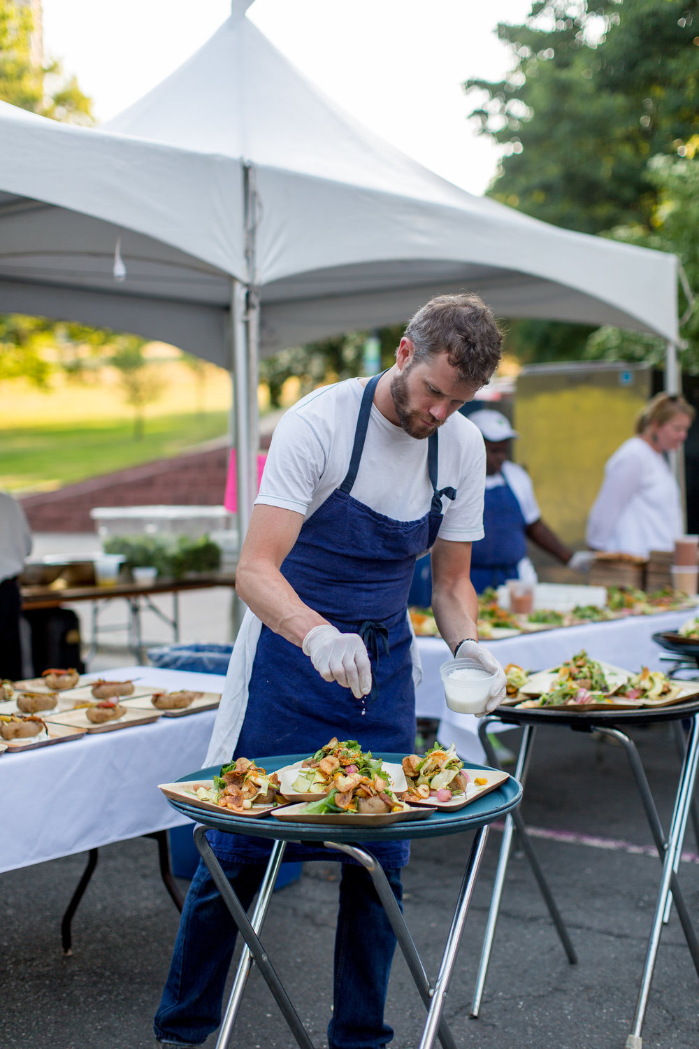Chef Jeffrey Lizotte of ON20 at the Farm To Street Dinner 2016 | Hartford, CT | CTEatsOut.com