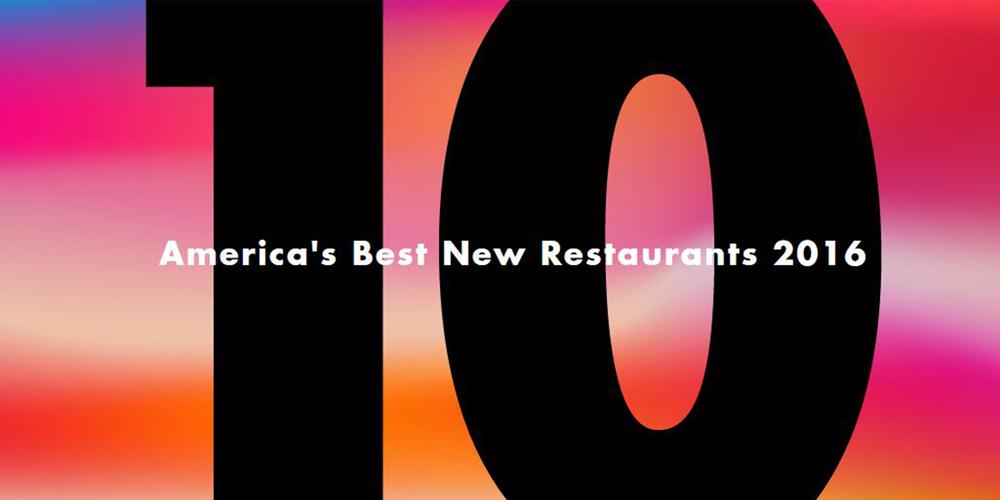 Bon Appetit America's Best New Restaurants | Five Things CT Eats Out