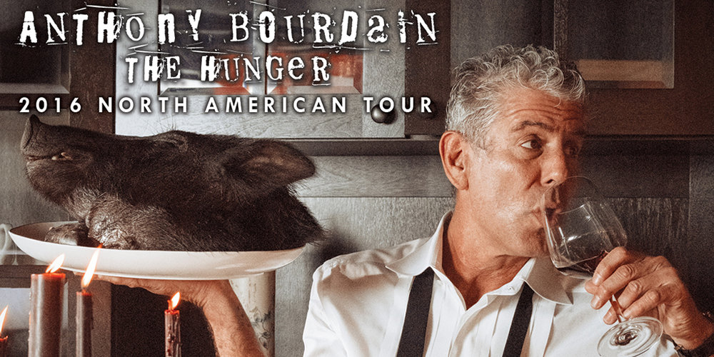 Win Tickets To See Anthony Bourdain Live At Foxwoods!