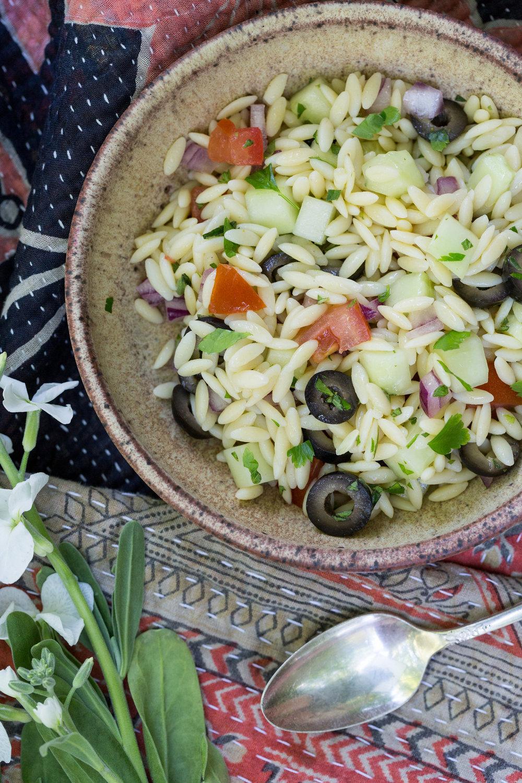 Mediterranean Orzo Salad Recipe | CTEatsOut.com