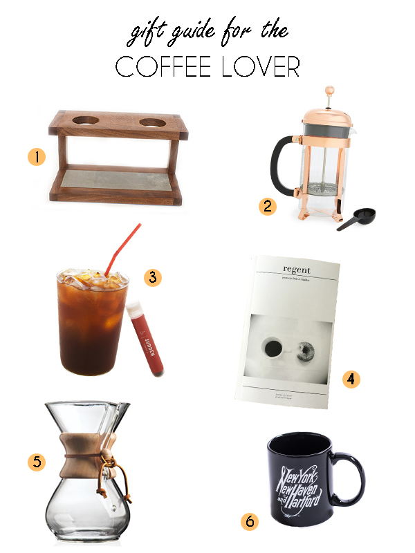 Gift Guide: For the Coffee Lover | CT Eats Out | Pour over coffee, *good* instant coffee, locally designed mugs and more!