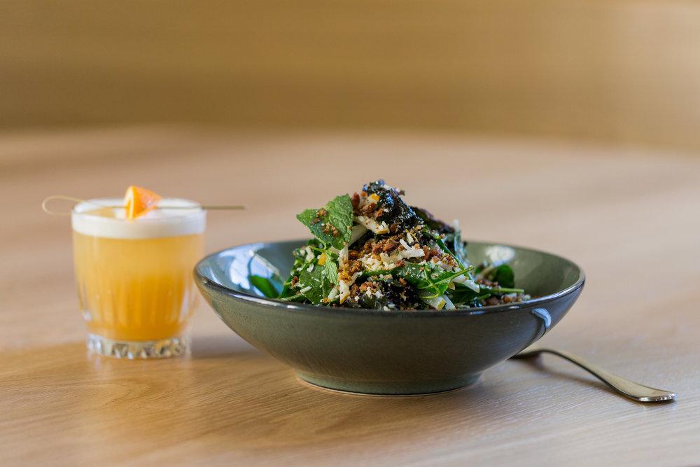 Kale Salad at Jesup Hall
