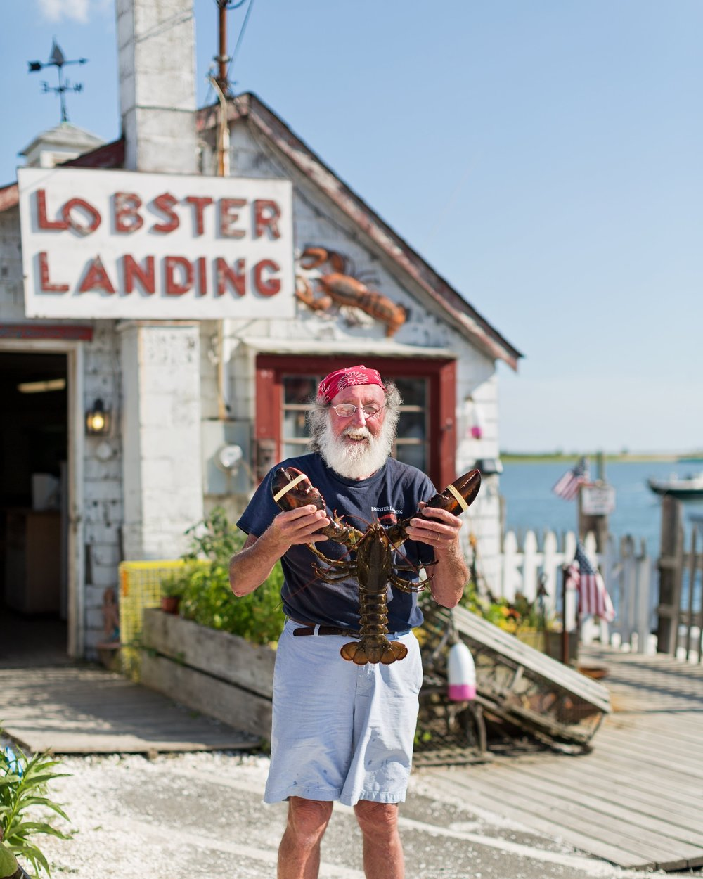 Enea Bacci owner of Lobster Landing in Clinton CT Portrait by Allegra Anderson
