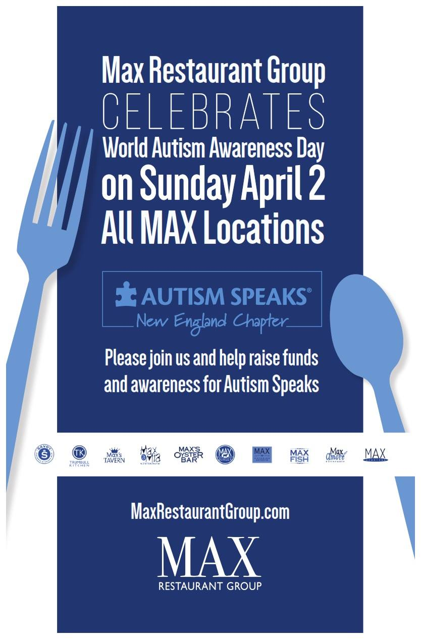 Max Restaurant Group Celebrates Autism Awareness Day