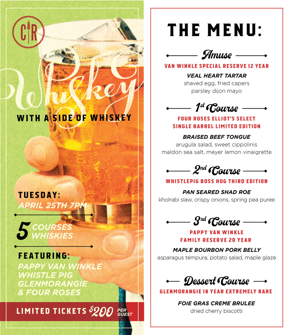 Cask Republic Whiskey Dinner