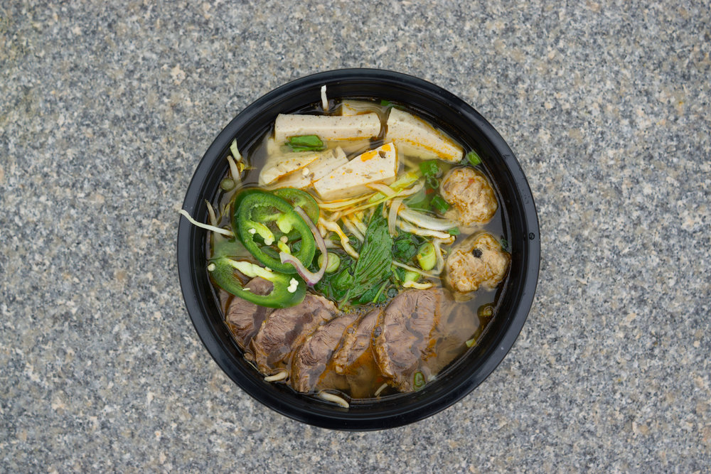 Bun Bo Hue by the Banh Meee Food Truck in Hartford, CT