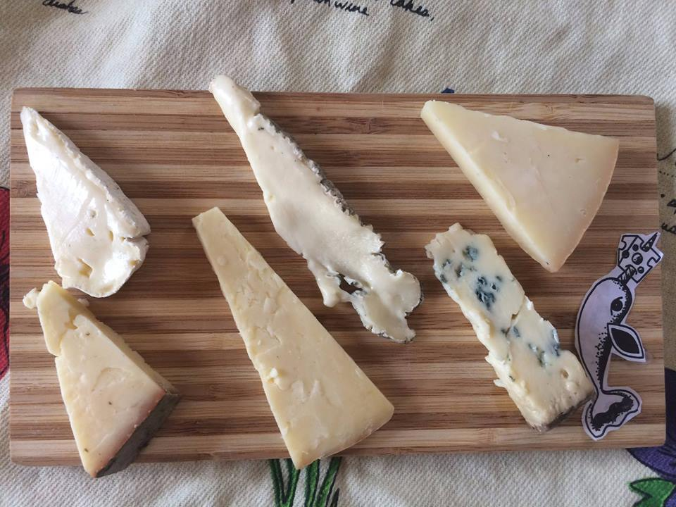 Mystic Cheese and Beer'd Brewing pairing