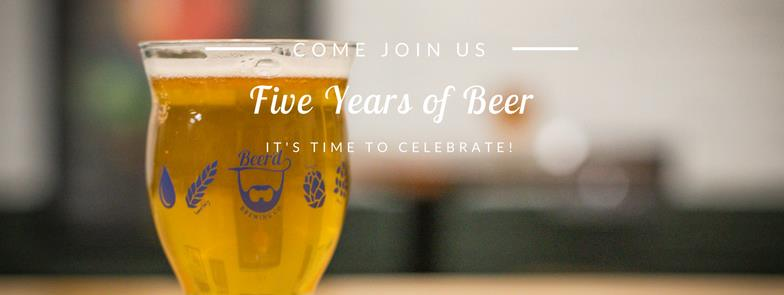 Five Years of Beer'd Brewing
