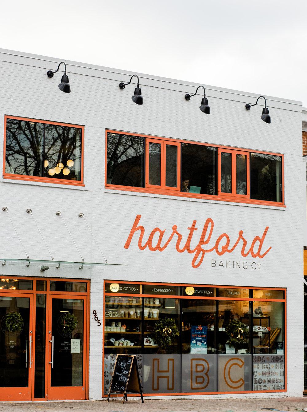 hartford county coffee shops