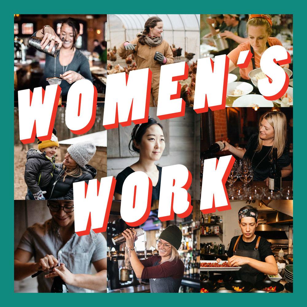 Women's Work Dinner Oyster Club