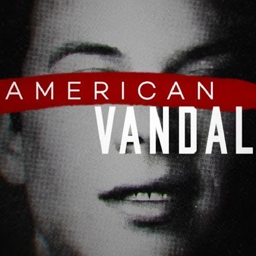 America Vandal - A high school is rocked by an act of vandalism, but the top suspect pleads innocence and finds an ally in a filmmaker. A satirical true crime mystery.Available on Netflix