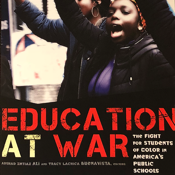 Education at War - This thought-provoking collection of essays reveals how the contemporary specter of war has become a central way that racism and materialism are manifested and practiced within education.Available on Amazon