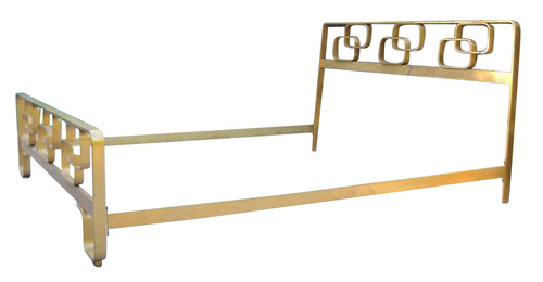 Brass Queen Size Bed Frame, Italy, 1960s — Gaspare Asaro-Italian ...
