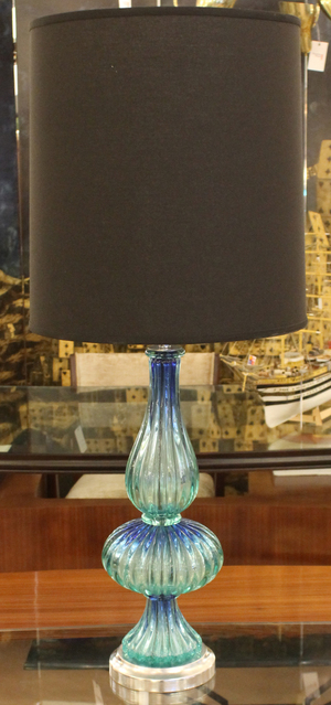 Acqua murano glass table lamp italy 1960s gaspare asaro italian acqua murano glass table lamp italy 1960s mozeypictures Images