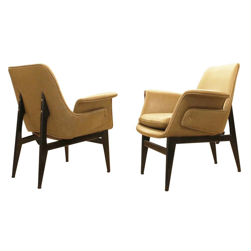 Diminutive 1960u0027s Italian Lounge Chairs