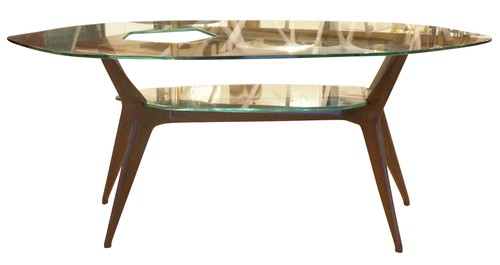 Unique Coffee Table In The Style Of Ico Parisi Italy 1960s