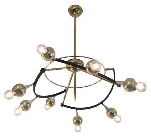 Orbital stilnovo chandelier italy 1960s gaspare asaro italian orbital stilnovo chandelier italy 1960s aloadofball Gallery