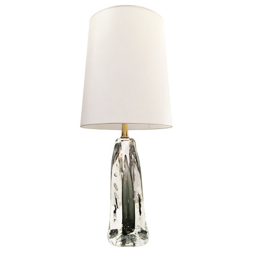 Bolla infused glass table lamp by esperia