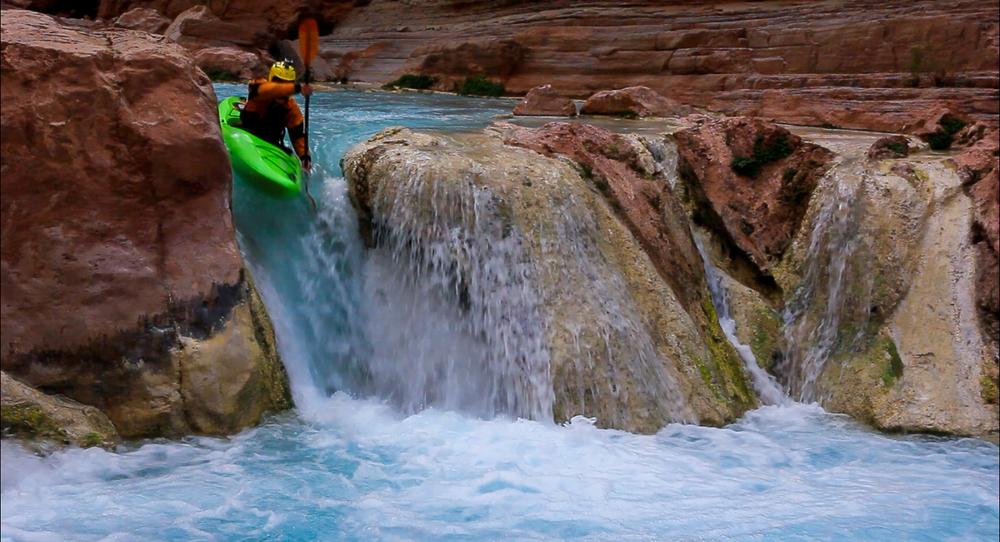 Screenshot of some Katana creeking action at Havasu. Grand Canyon, AZ