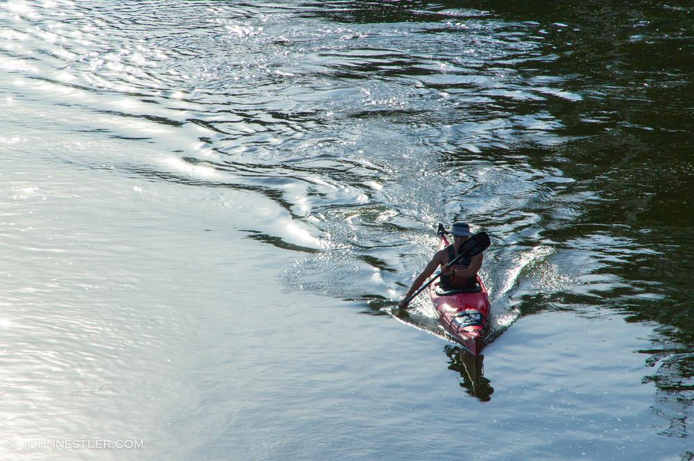 john nestler kayak james river rundown race