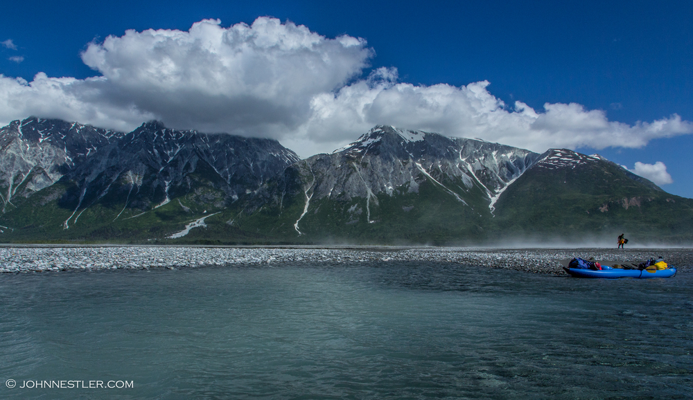Windy Alsek Confluence
