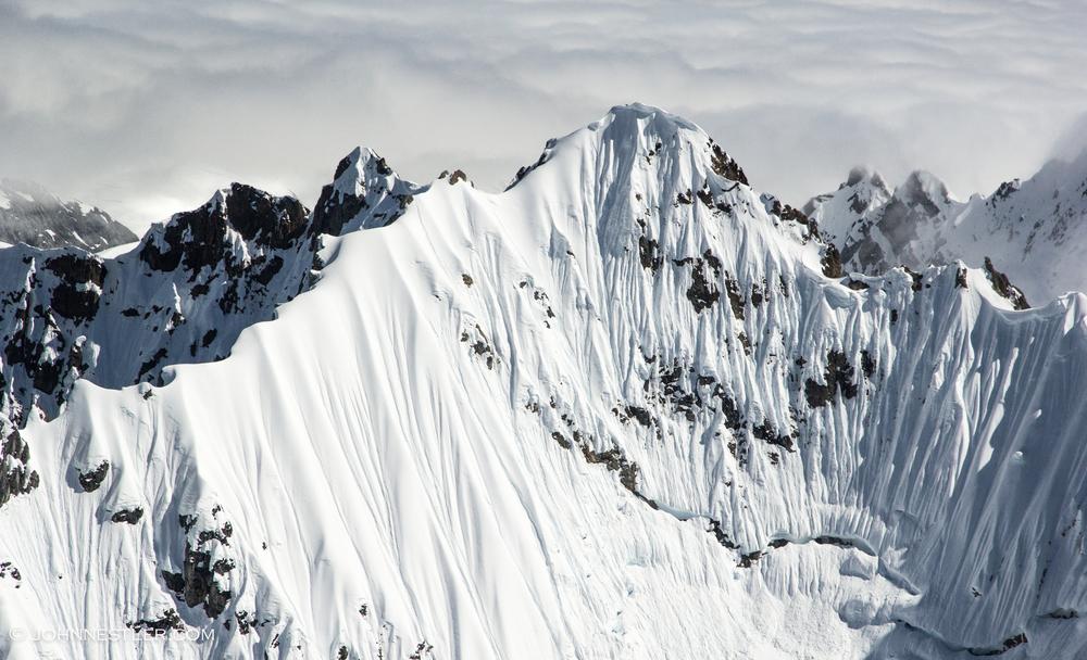 Jagged Alaskan Peak