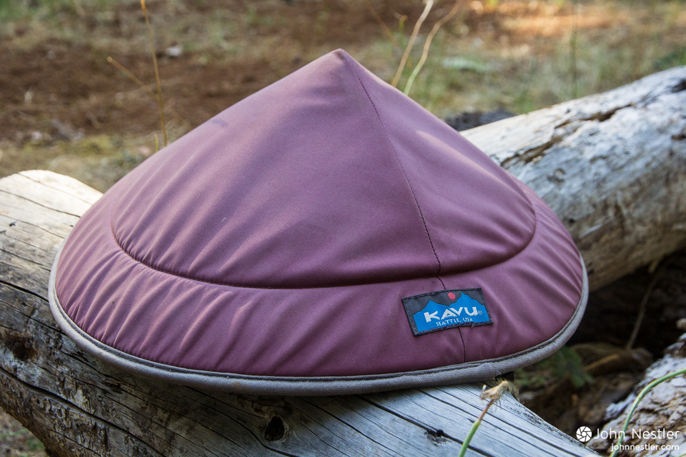 The KAVU Chillba. A fun, effective way to stay out of the sun.
