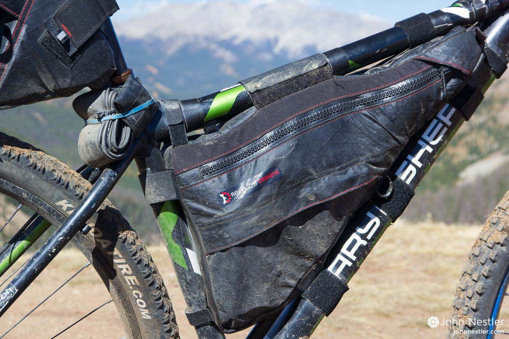 revelate designs ranger frame bag mountain bike