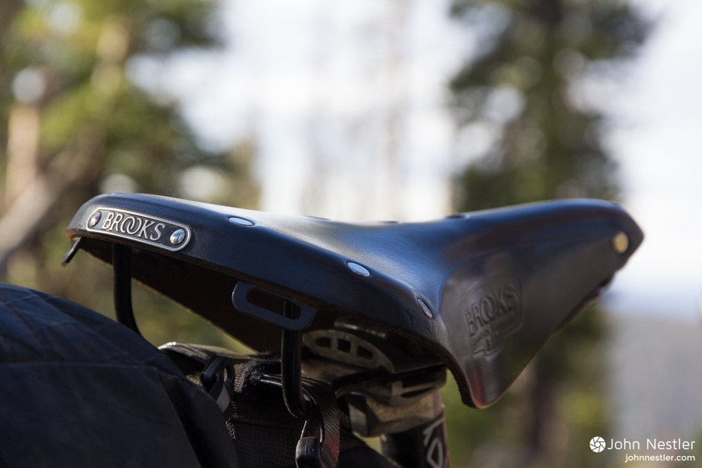 brooks b17 saddle colorado trail