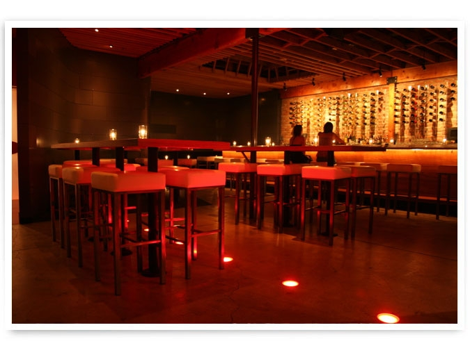 The scene at Bodega Wine Bar, Santa Monica.   Photo credit: http://www.mymodernmet.com