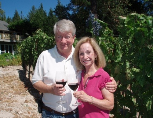 Ed & Irene Ojdana, Owners Vineyard {511}