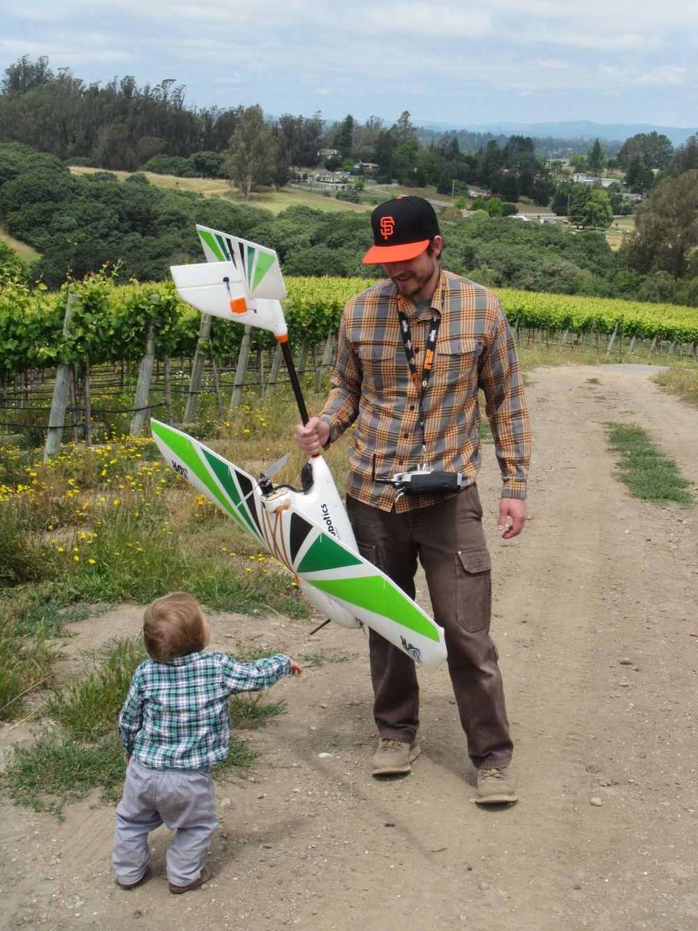 Ryan & Henry at Pinot Hill Vineyards