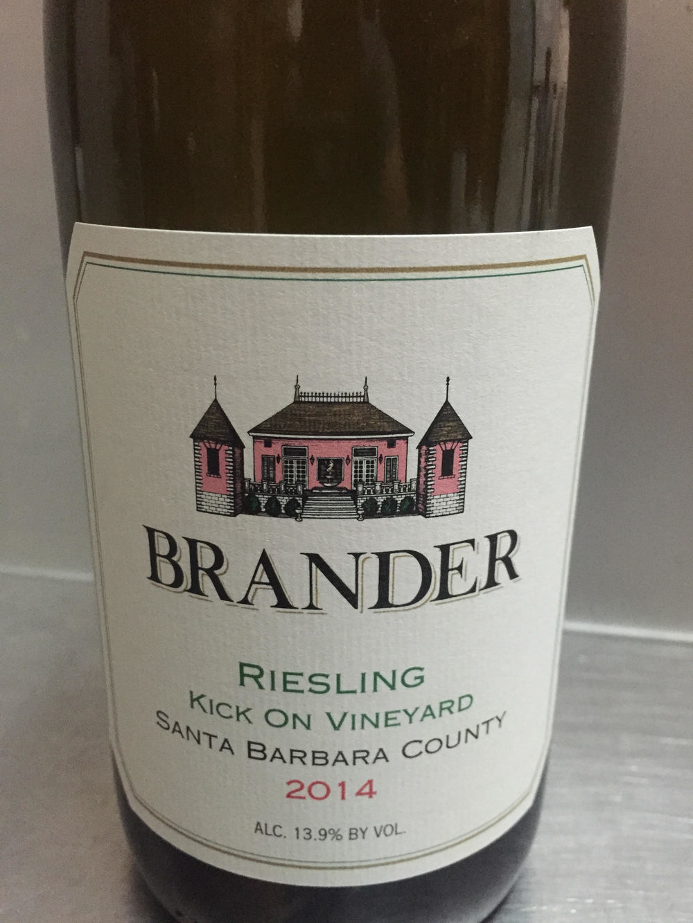 Brander Kick On Vineyard Reisling 2014 | VAULT29