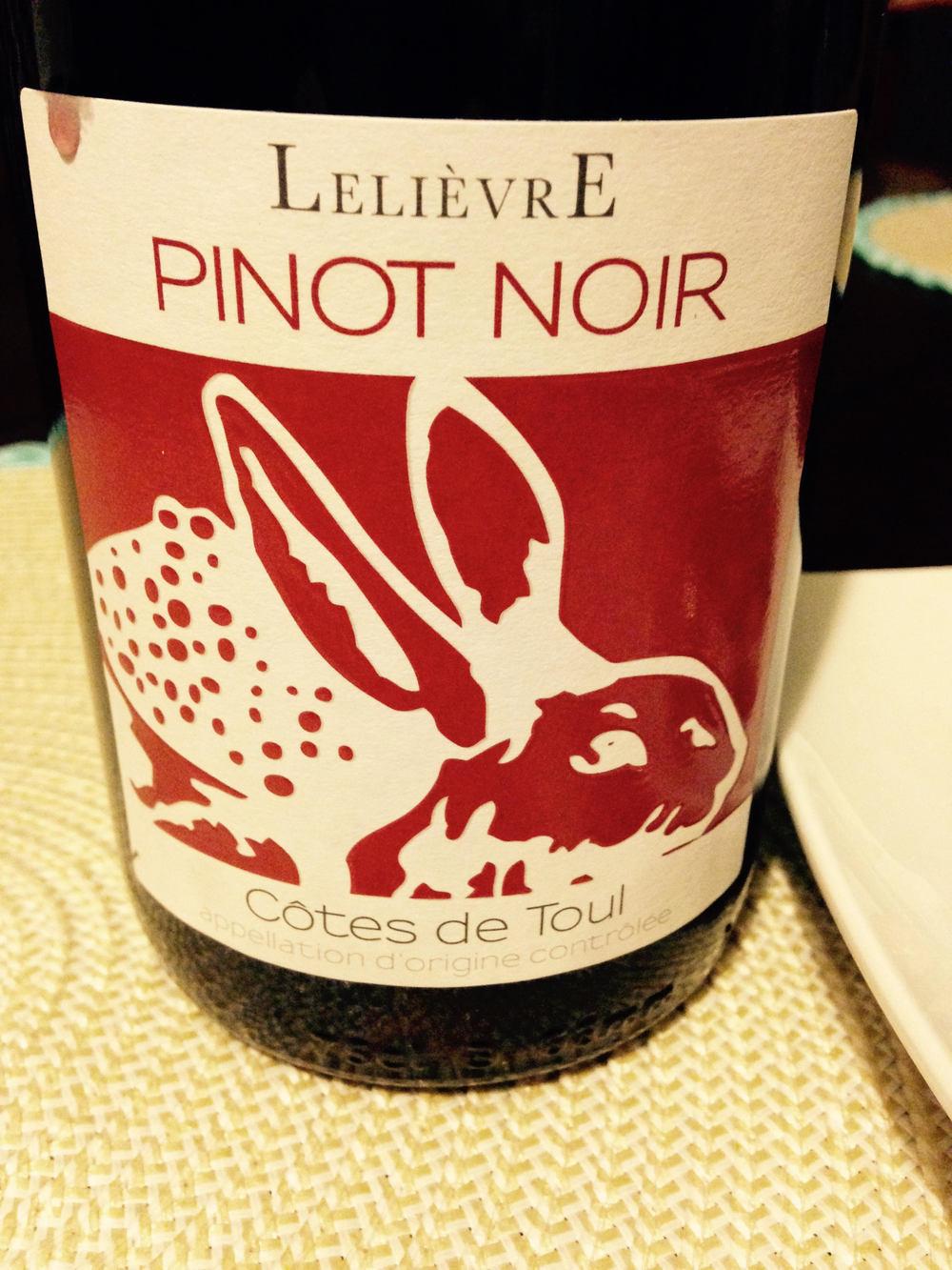 Domaine Lelievre Pinot Noir from the Cotes de Toul | VAULT29