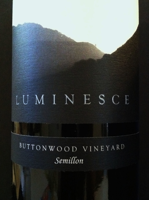 Luceant Luminesce Semillon Buttonwood Vineyard