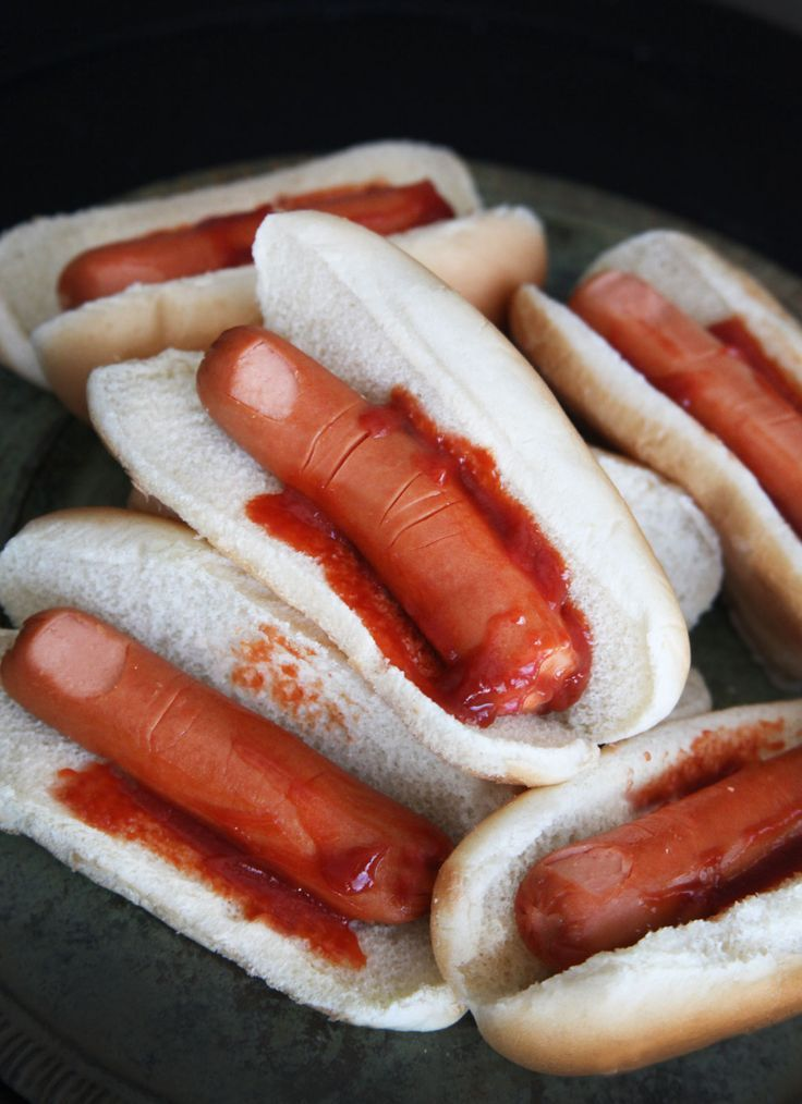 Finger Hot Dogs