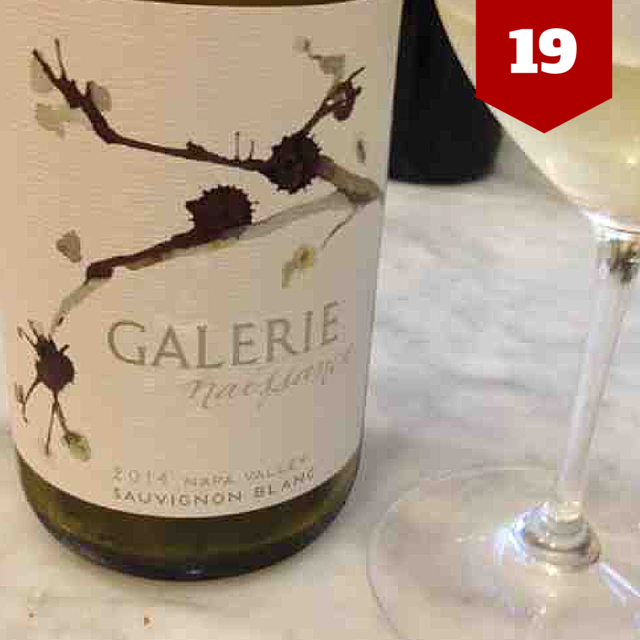 2014 Napa Valley Sauvignon Blanc by Galerie | VAULT29