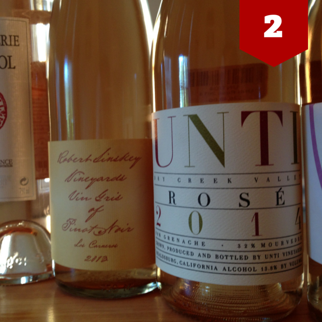 2013 Robert Sinskey Vin Girs + 2014 UNTI rosé | VAULT29
