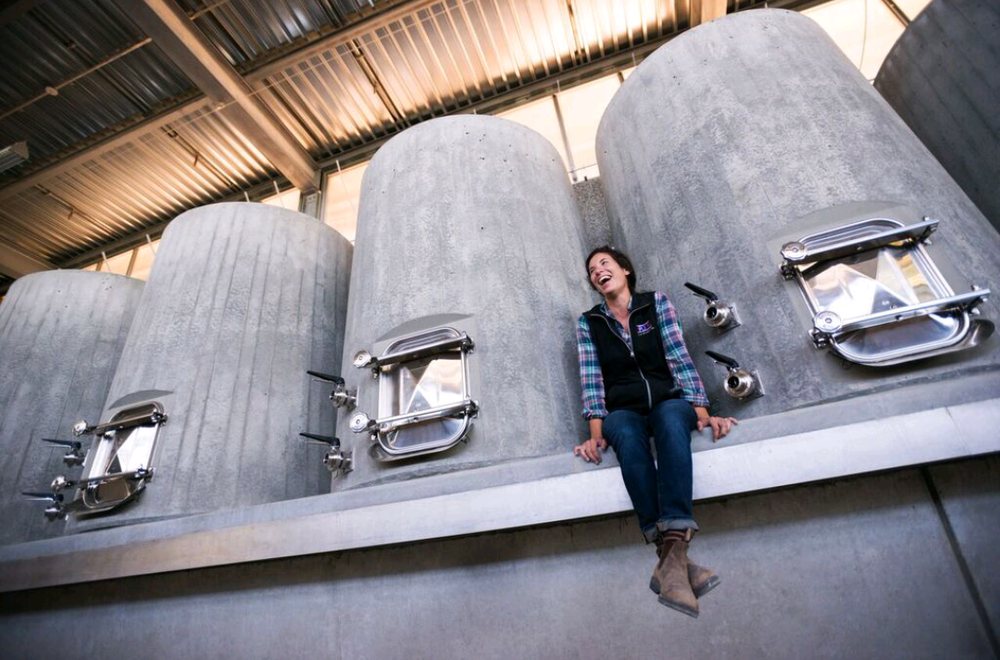 Jordan with Concrete Fermenters