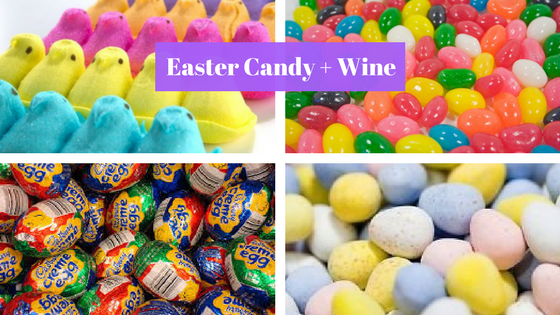 Easter Candy + Wine on VAULT29 blog