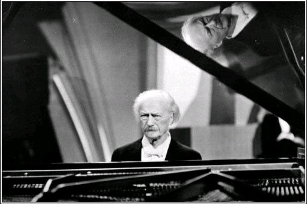 Paderewski at the piano