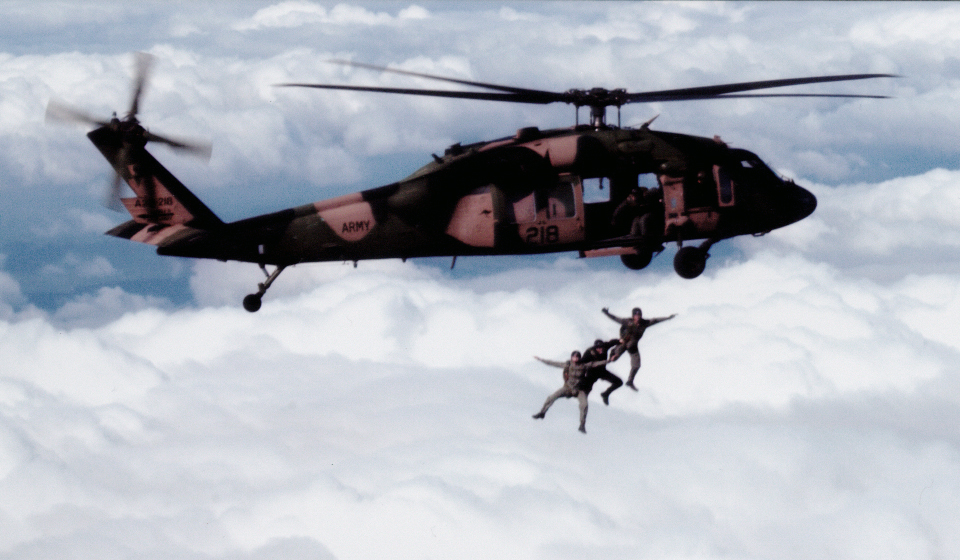 SAS Parachute Operations