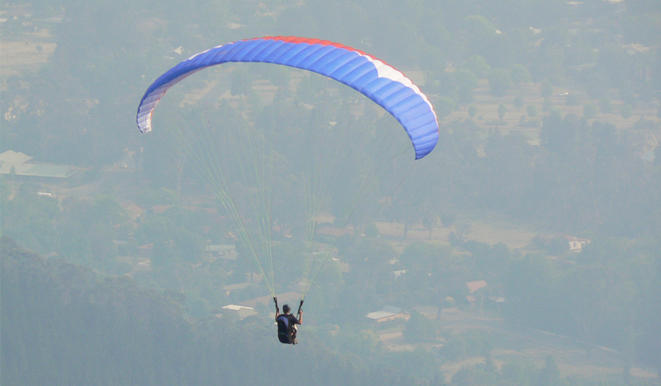Paragliding, Victoria, Australia