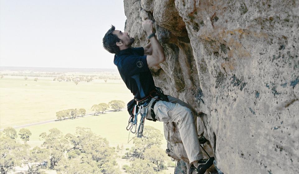 Rock Climbing Mt Arapiles, Victoria, Australia