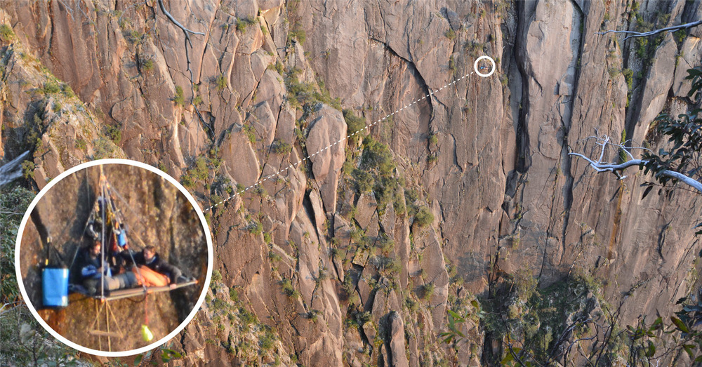 Waking up at sunrise on portaledge. Mt Buffalo Gorge Victoria Australia. & Insights from Beyond the Edge - Sleeping on a Portaledge ...
