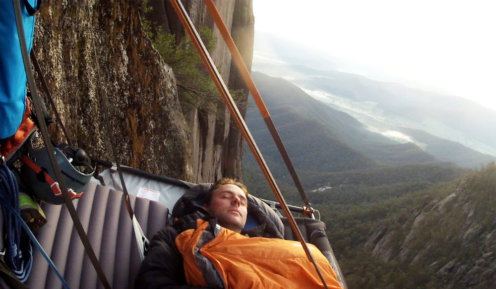 Beyond the Edge Portaledge Sleeping