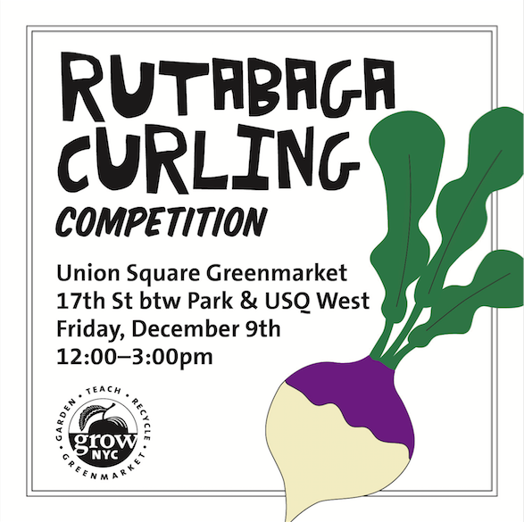 Collateral for Rutabaga Curling Competition, 2016