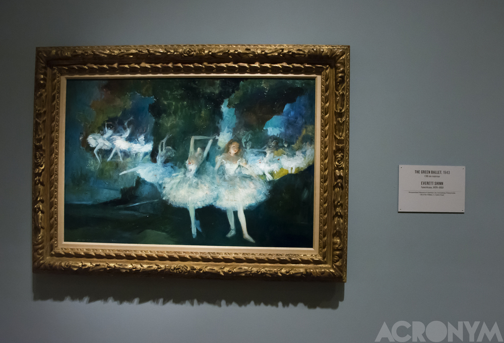 The Green Ballet, Everett Shinn.  Photo: ACRONYM